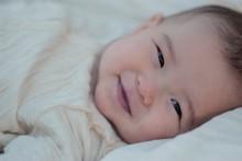 赤ちゃんの頭