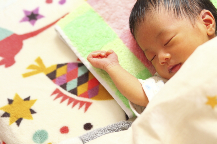 1~2か月の赤ちゃん