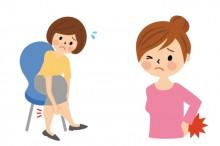 浮腫と腰痛