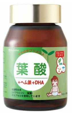 葉酸+ヘム鉄+DHA