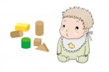 形を認識する赤ちゃん