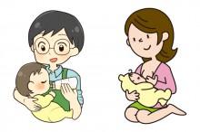 母乳と粉ミルク
