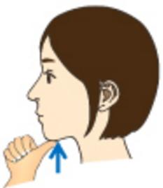 舌下腺マッサージ