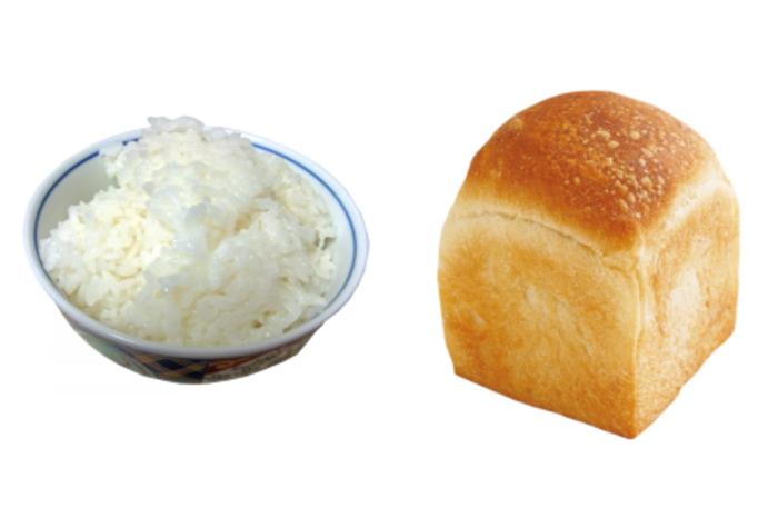 白米とパン
