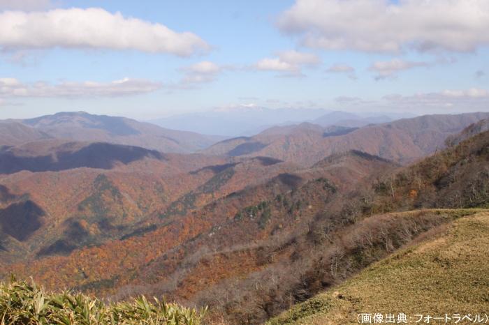 冠山の紅葉