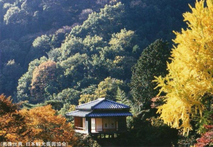 行道山浄因寺の紅葉