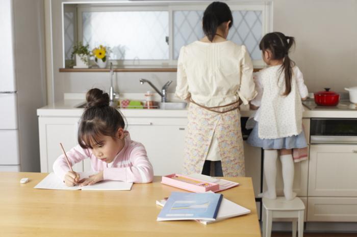 勉強を習慣にした子供