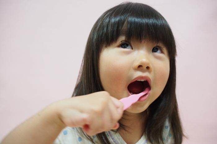 歯磨きが遅い子供