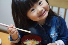 味噌汁と子供