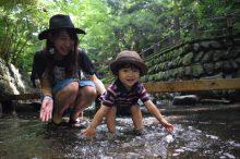夏休みに親子で大自然へ出かける
