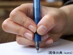 誤った鉛筆の持ち方-2