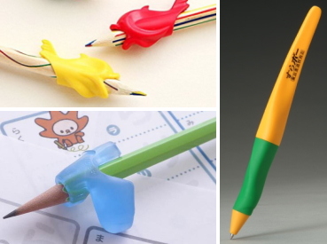 鉛筆の持ち方を矯正する器具