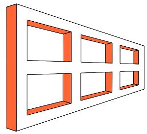 エイムズの窓