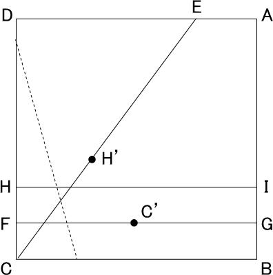角の三等分線の説明図-2