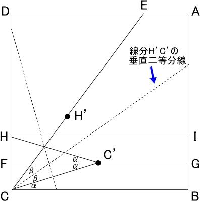 角の三等分線の説明図-4