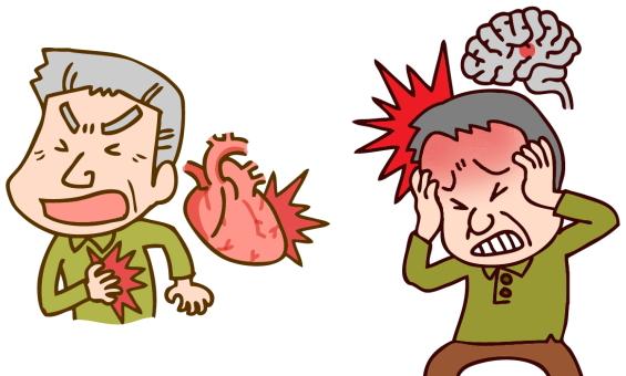心筋梗塞、脳梗塞