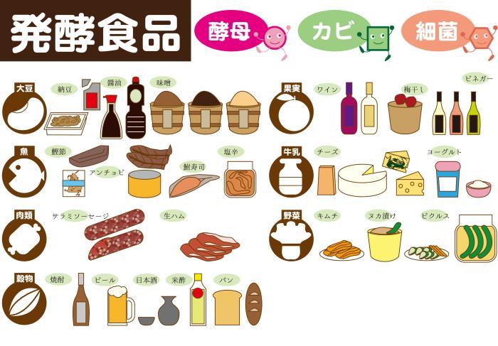 発酵食品一覧